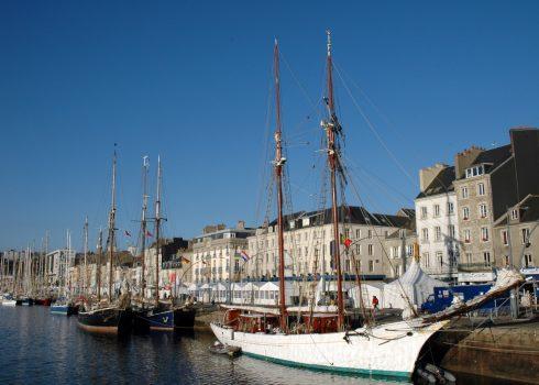 Cherbourg, Normandie, gamlebyen, historisk bysenter, Vest-Frankrike, Frankrike