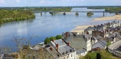 Chinon, Loire, Jeanne d'Arc, middelalder, historisk, gamleby, Vest-Frankrike, Frankrike