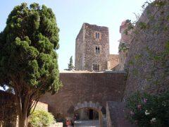 Château Royal, Kunstnerbyen, Collioure, Pyrenees- Orientales, Sør-Frankrike, Frankrike