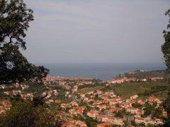 Kunstnerbyen, Collioure, Pyrenees- Orientales, Sør-Frankrike, Frankrike