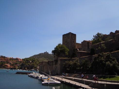 Kunstnerbyen, Château Royal, Collioure, Pyrenees- Orientales, Sør-Frankrike, Frankrike