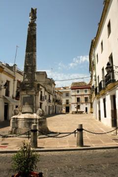 La Juderia, Plaza El Porto,  Cordoba, katedral-moskéen La Mezquita, Guadalquivir, Unescos liste over Verdensarven, historisk bydel, gamleby, Andalucia, Spania
