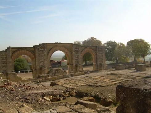 Madinat Al-Zahra, Cordoba, katedral-moskéen La Mezquita, Guadalquivir, Unescos liste over Verdensarven, historisk bydel, gamleby, Andalucia, Spania
