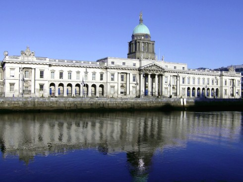 The Custom House, Dublin, Irland, Storbritannia