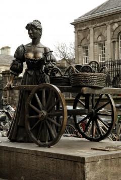 Molly Malone, Dublin, Irland, Storbritannia