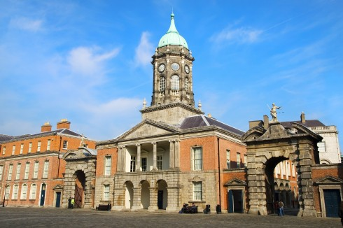 Dublin Castle, Dublin, Irland, Storbritannia