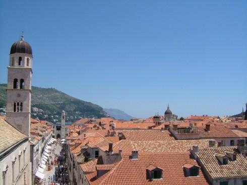 Dubrovnik, Ragusa, middelalderen, Unescos liste over Verdensarven, Kroatia