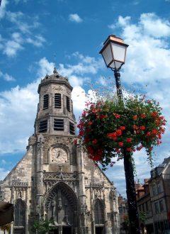 Honfleur, Église Saint Leonard, Saint-Étienne, Vieux Bassin, impresjonistene, Hundreårskrigen, Normandie, Calvados, Vest-Frankrike
