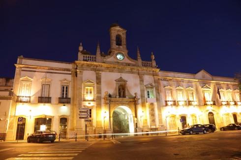 Byport, Faro, gamlebyen, Algarvekysten, Sør-Portugal, Portugal