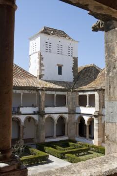 Klosteret Nossa Senhora da Assuncao, Faro, gamlebyen, Algarvekysten, Sør-Portugal, Portugal