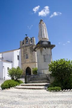katedralen, Faro, gamlebyen, Algarvekysten, Sør-Portugal, Portugal
