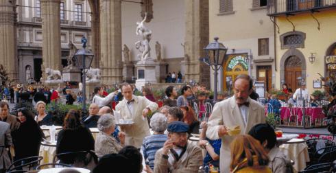 Firenze, Piazza della Signora, renessanse, middelalder, Unescos liste over Verdensarven, historisk bydel, gamleby, Toscana, Midt-Italia, Italia