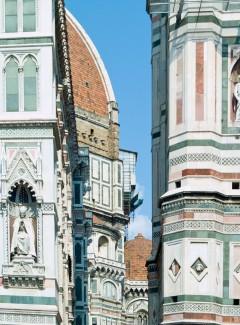 Duomo, campanile, Firenze, renessanse, middelalder, Unescos liste over Verdensarven, historisk bydel, gamleby, Toscana, Midt-Italia, Italia