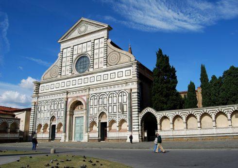 Santa Maria Novella, Firenze, renessanse, middelalder, Unescos liste over Verdensarven, historisk bydel, gamleby, Toscana, Midt-Italia, Italia