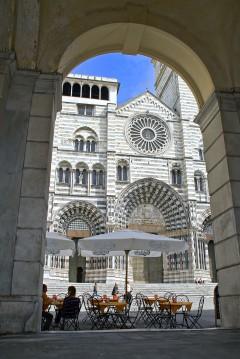 Duomo di San Lorenzo, Genova, Unescos liste over Verdensarven, middelalder, gotikken, renessanse-arkitektur, Liguria, Nord-Italia, Italia