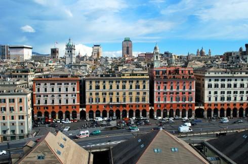 Porta Antica, Genova, Unescos liste over Verdensarven, middelalder, gotikken, renessanse-arkitektur, Liguria, Nord-Italia, Italia