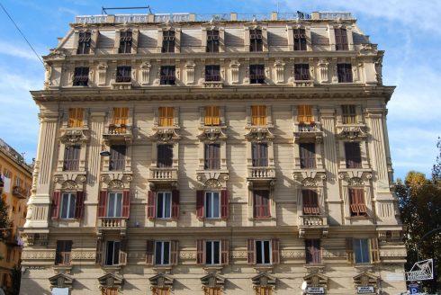 renessansepalasser i Via Garibaldi, Genova, Unescos liste over Verdensarven, middelalder, gotikken, renessanse-arkitektur, Liguria, Nord-Italia, Italia