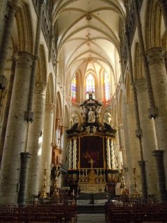 st Bavo - Sint Baafs katedral, Ghent, kanaler, St Baafs Plas, historisk, Unescos liste over Verdensarven, øl, bryggerier, gourmet, gamleby, gotikken, renessansen, barokken, Flandern, Belgia