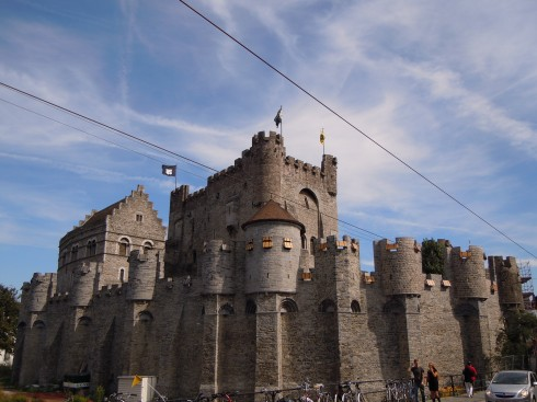 Ghent, St Baafs Plas, historisk, Unescos liste over Verdensarven, øl, bryggerier, gourmet, gamleby, gotikken, renessansen, barokken, Flandern, Belgia