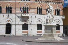 Palazzo Comunale, Grosseto, Toscana, Midt-Italia, Italia