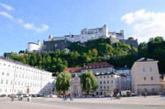 Kapitelplatz, Hohensalzburg, Salzburg, Altstadt, Mozart, Unescos liste over Verdensarven, Tyrol og Salzburg, Østerrike