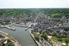 Honfleur, impresjonistene, Hundreårskrigen, Normandie, Calvados, Vest-Frankrike
