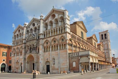 Duomo Ferrara, Emilia-Romagna, Nord-Italia, Italia