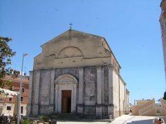 Umag, gamlebyen, historisk bysenter, middelalder, Hotel Stella maris, Adriaterhavet, Istria, Kroatia