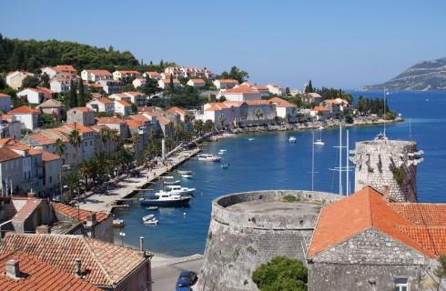 Korcula, Makarskakysten, Split og øyene, Kroatia