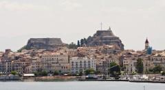 Palaio Frourio, Korfu by, Hellas