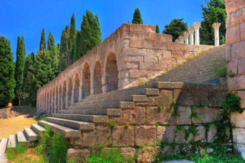 Asklepieion, Hippokrates, Kos, Hellas