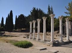 Apollon-tempelet i oldtidsbyen Asklepieion, Hippokrates, Kos, Hellas