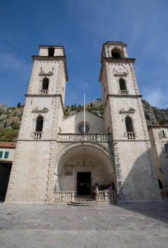 Katedral Sveti Tripun - St Trypon, Kotor, middelalder, gotikken, renessanse, Unescos liste over Verdensarven, Montengros Middelhavskyst, Montenegro