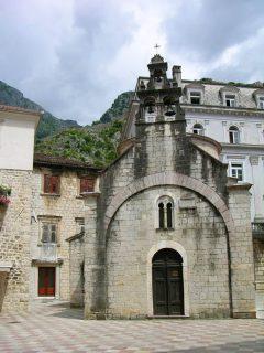 Sveti Luka - St Lukas, Kotor, middelalder, gotikken, renessanse, Unescos liste over Verdensarven, Montengros Middelhavskyst, Montenegro