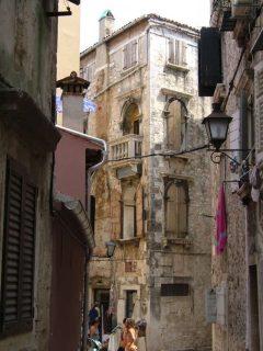 Rovinj, Istria, middelalder, Kroatia