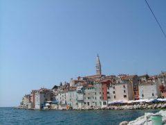 Rovinj, gamlebyen, middelalder, historisk bysenter, Istria, Kroatia