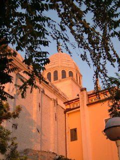 St Jacobs katedral, Sibenik, Adriaterhavet, gamlebyen, historisk bysenter, Unescos liste over Verdensarven, middelalder, renessanse, Zadarkysten og øyene, Kroatia