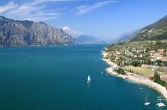 Gardasjøen, Lago di Garda, Lombardia, Trentino, Nord-Italia, Italia
