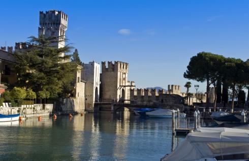 Sirmione, Gardasjøen, Lago di Garda, Lombardia, Trentino, Nord-Italia, Italia
