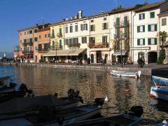 Lazise Gardasjøen, Lago di Garda, Lombardia, Trentino, Nord-Italia, Italia