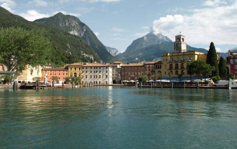 Riva del Garda, Gardasjøen, Lago di Garda, Lombardia, Trentino, Nord-Italia, Italia