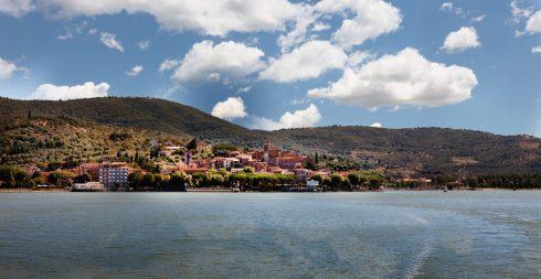 Lago di Trasimeno, Toscana, Midt-Italia, Italia
