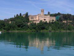 Lago di Trasimeno, castello Isola Maggiore Lago Trasimeno Umbria, Midt-Italia
