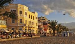 Las Palmas Canteras Beach, Las Palmas, Unescos liste over Verdensarven, Gran Canaria, Kanariøyene, Spania