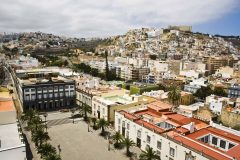 Las Palmas - Piazza Santa Ana, Unescos liste over Verdensarven, Las Palmas, Gran canaria, Kanariøyene, Spania
