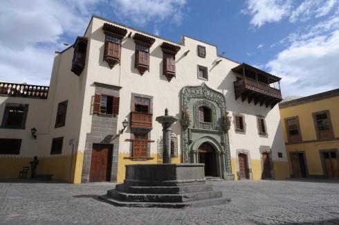 Columbus, Casa de Colón i Las Palmas, Gran Canaria, Kanariøyene, Spania