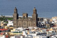 Cathedral Santa Ana, Unescos liste over Verdensarven, Las Palmas de Gran Canaria, Spain, Spania