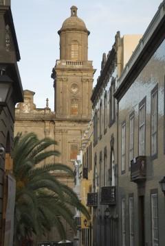 Santa Ana i bydelen, Unescos liste over Verdensarven, La Vegueta i Las Palmas, Gran Canaria, Kanariøyene