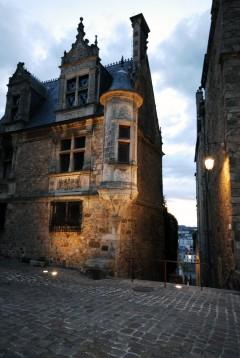 Le Mans, romertid, Ville Plantagenet, middelalder, Vieux Mans, vielle ville, Vest-Frankrike, Frankrike