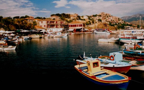 Molivos, Lesbos, antikken, Øyene, Hellas